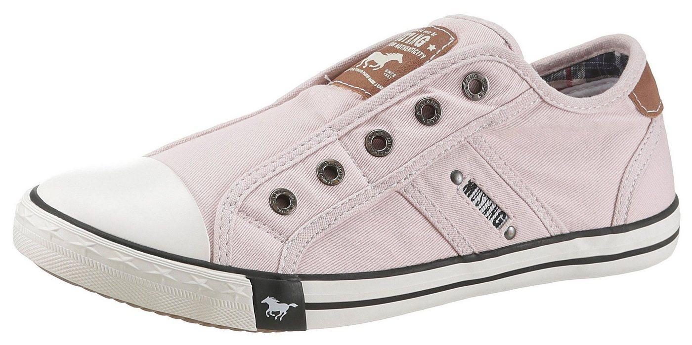Mustang Shoes Slip-On Sneaker in sommerlicher Farbpalette