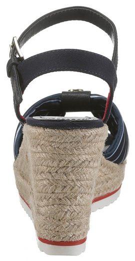 Sandalette Farbigen Tom Tailor Mit Akzenten Zq4Pw50