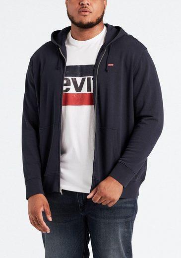 Levi's® Big and Tall Kapuzensweatjacke »BIG CLASSIC ZIP UP«