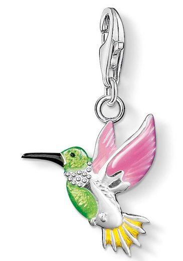 THOMAS SABO Charm-Einhänger »Bunter Kolibri, 0655-007-7«, mit Emaille