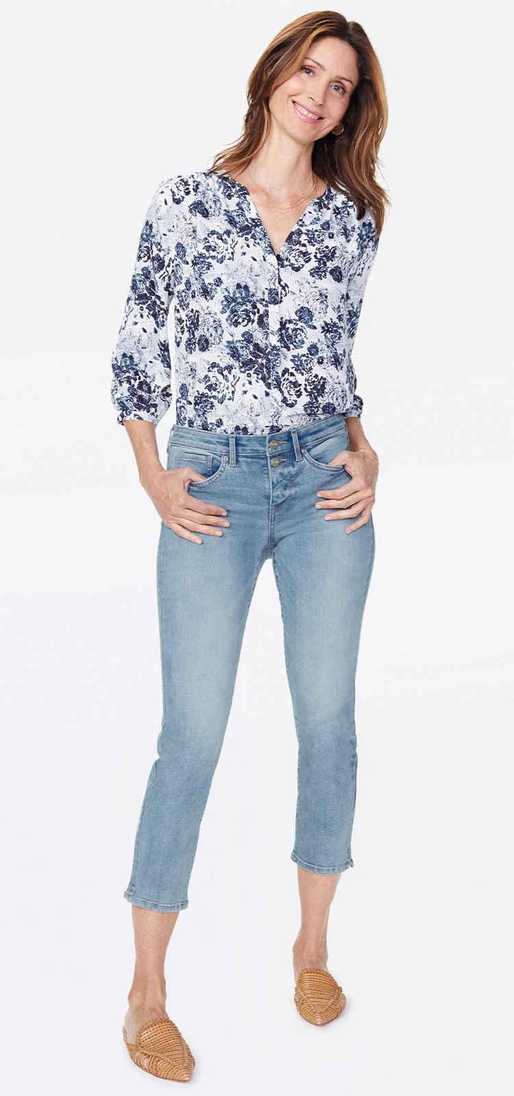 NYDJ Slim-fit-Jeans »in Premium Denim« Slim Ankle