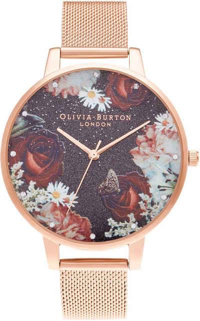 OLIVIA BURTON Quarzuhr »Winter Blooms, OB16WG80«