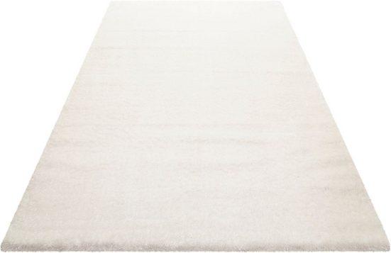 Hochflor-Teppich »Ella«, Wecon home Basics, rechteckig, Höhe 40 mm, besonders weich durch Microfaser