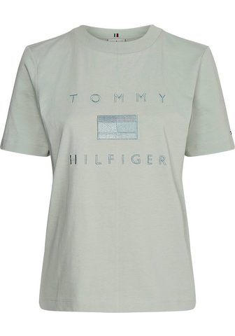 TOMMY HILFIGER Palaidinė apvalia iškirpte »RELAXED TO...