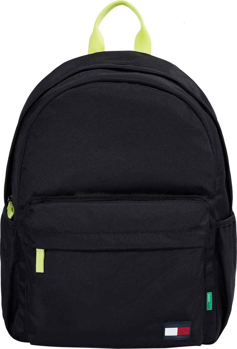 Tommy Hilfiger Cityrucksack »CORE BACKPACK«, aus recyceltem Material