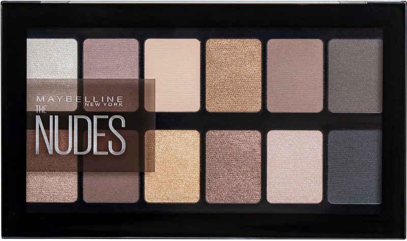 MAYBELLINE NEW YORK Lidschatten-Palette »The Nudes«