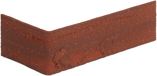 ELASTOLITH Verblender »Colorado Eckverblender«, rot, für den Außen- und Innenbereich 2 Lfm