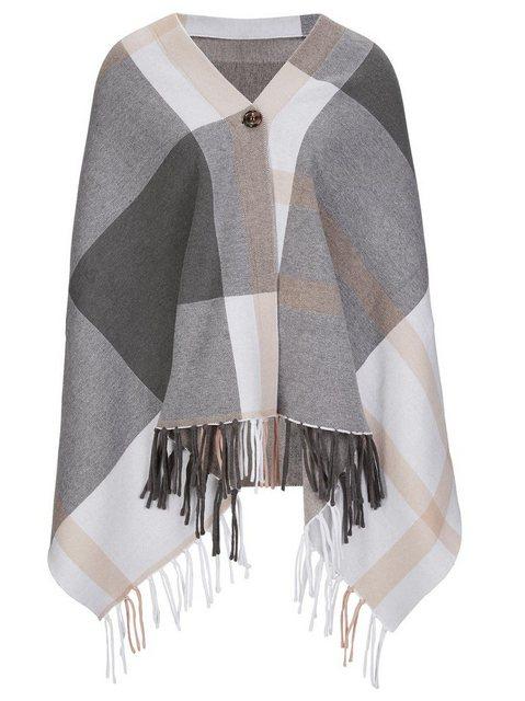 creation L Strickcape | Bekleidung > Pullover > Ponchos & Capes | creation L