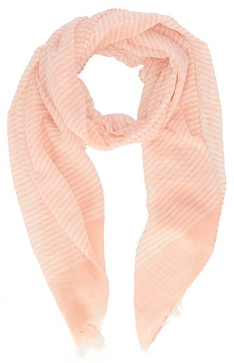 halsüberkopf Accessoires Schal »Schal mit Feinstreifen 80x180 cm« leichter Sommerschal mit Streifen