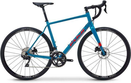 FUJI Bikes Rennrad »SPORTIF 1.1 D«, 22 Gang Shimano 105 Schaltwerk, Kettenschaltung