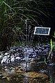 ESOTEC Solarteichpumpe »Rimini LED«, 160 l/h, mit Akku und Beleuchtung, Bild 1