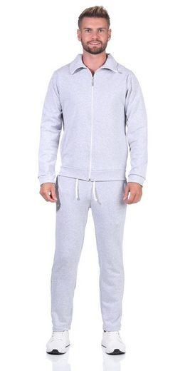 EloModa Freizeitanzug »Herren Jogging Anzug Trainingsanzug Sportanzug« (2-tlg)