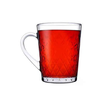 Neuetischkultur Teeglas »Teeglas Ruby 2er-Set«, Glas