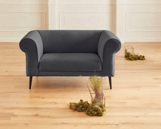 Guido Maria Kretschmer Home&Living 2-Sitzer »Teddyka«, mit Federkern-Polsterung und wunderschönen Armlehnen