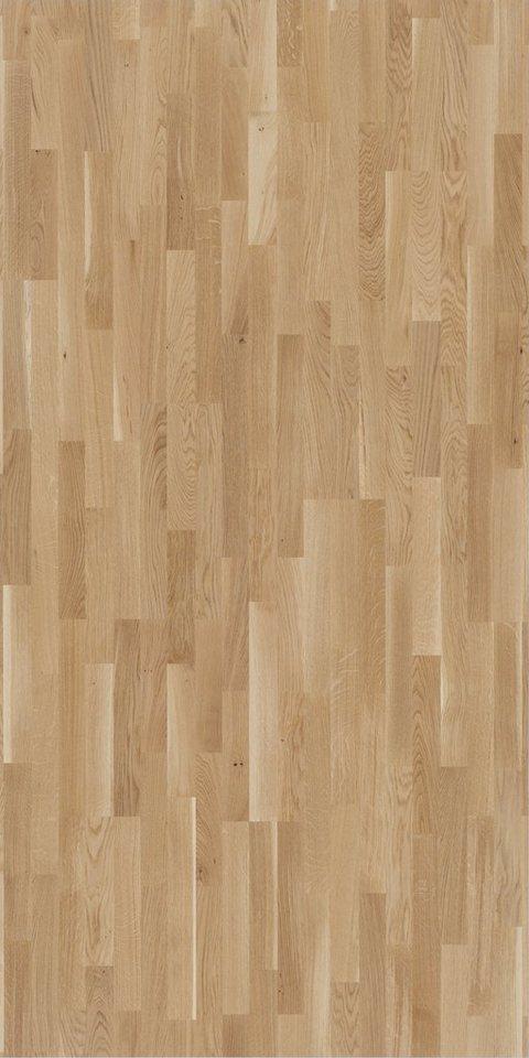 PARADOR Parkett »Classic 3060 Living - Eiche clear, lackiert«, 2200 x 185 mm, Stärke: 13 mm, 3,66 m² | Baumarkt > Bodenbeläge > Parkett | Braun | PARADOR
