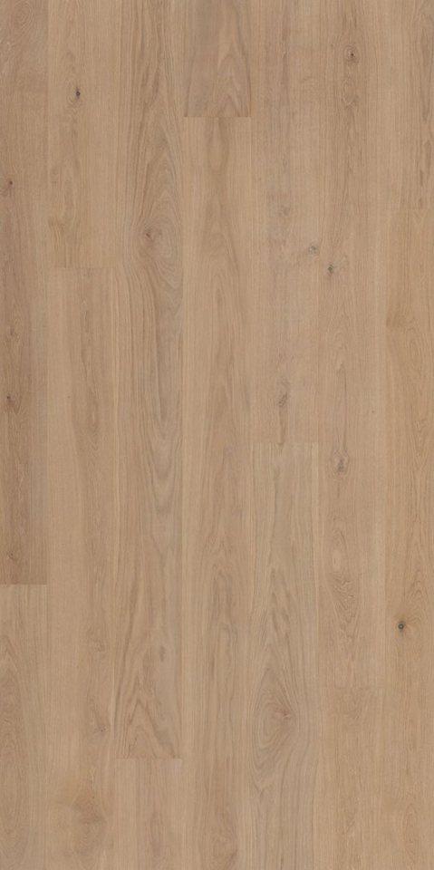 PARADOR Parkett »Classic 3060 Natur - Eiche weiß, lackiert«, 2200 x 185 mm, Stärke: 13 mm, 3,66 m² | Baumarkt > Bodenbeläge > Parkett | Weiß | PARADOR