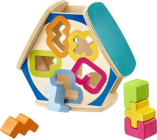 Selecta Steckspielzeug »Sortino Sortierborx«, aus Holz, Made in Germany