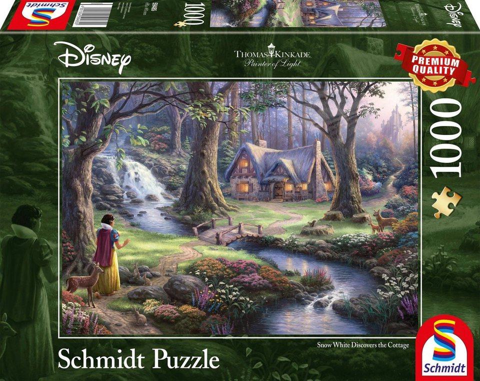 schmidt spiele puzzle disney schneewittchen 1000. Black Bedroom Furniture Sets. Home Design Ideas