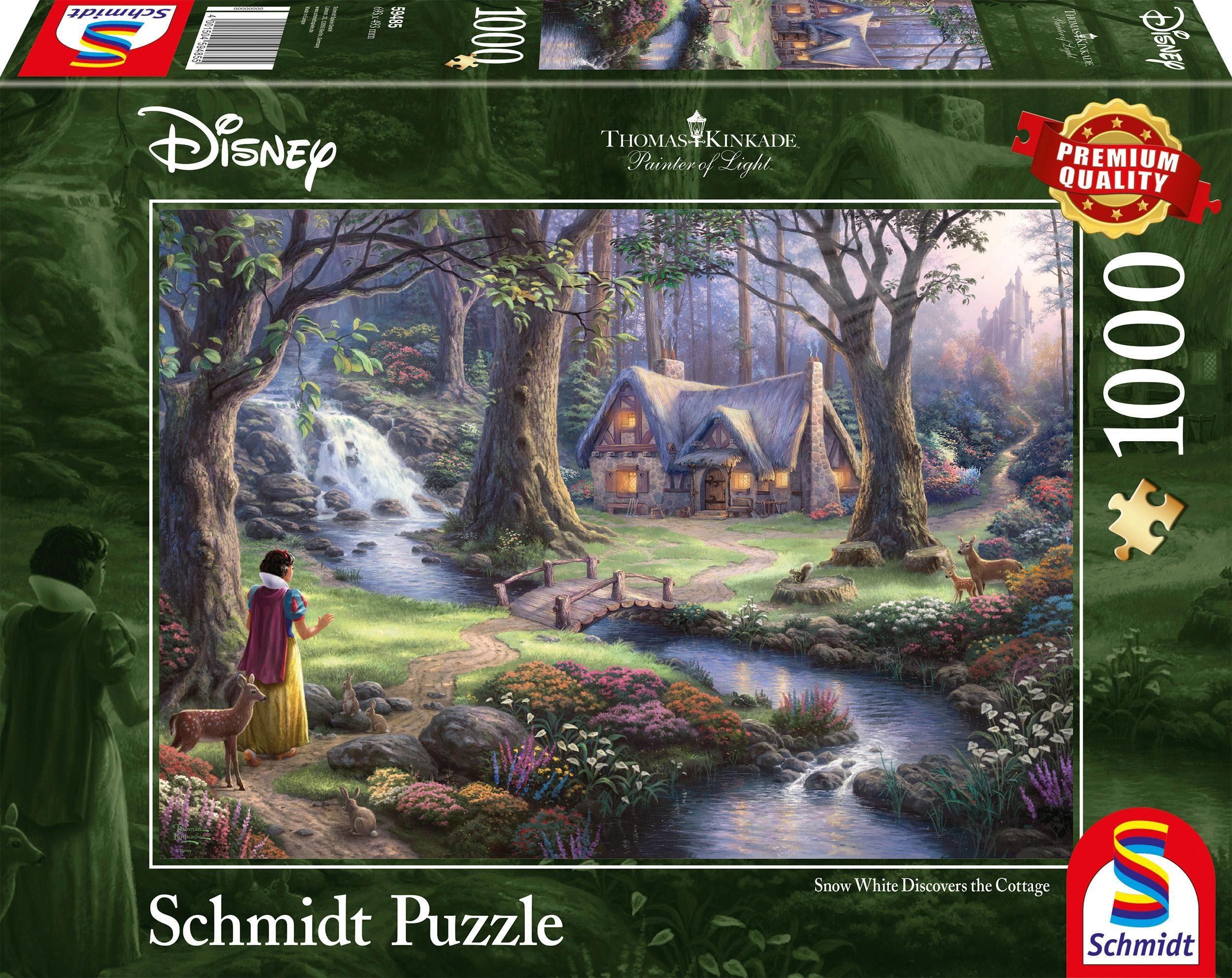 Schmidt Spiele Puzzle »Disney, Schneewittchen«, 1000 Teilig
