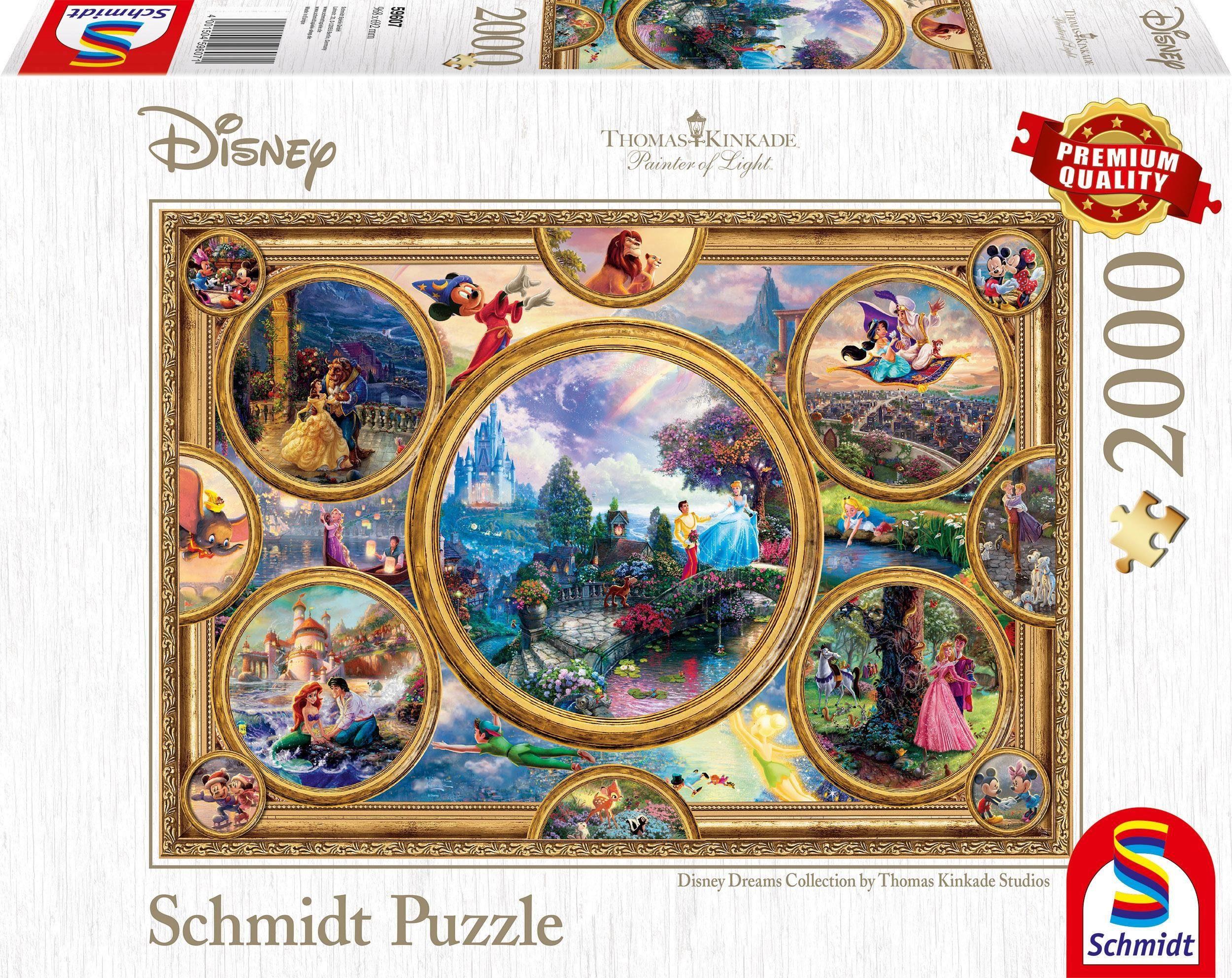 Schmidt Spiele Puzzle »Disney, Collage«, 2000 Teilig