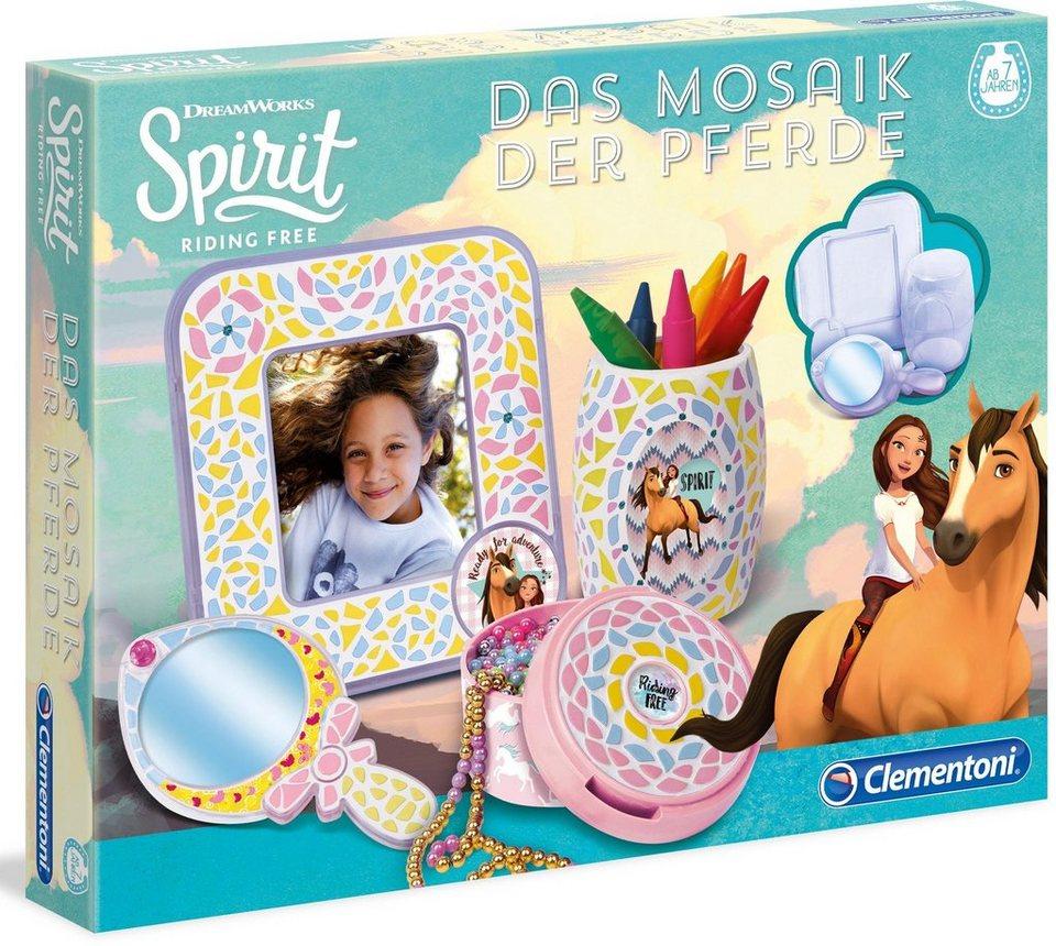 Clementoni Kreativset,  Spirit - Das Mosaik der Pferde  online kaufen