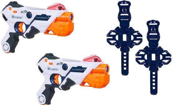 Hasbro Blaster »Nerf Laser Ops Pro AlphaPoint« (Set, 2-tlg)