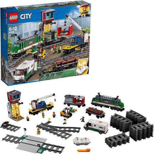 LEGO® Konstruktionsspielsteine »Güterzug (60198), LEGO® City«, (1226 St)