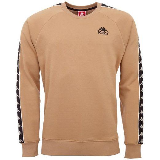 Kappa Sweatshirt »AUTHENTIC DAIKI« mit wertigem Logoband an den Ärmeln