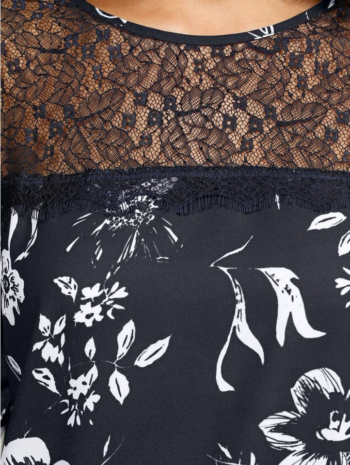 Alba Moda Druckbluse mit exklusivem Print