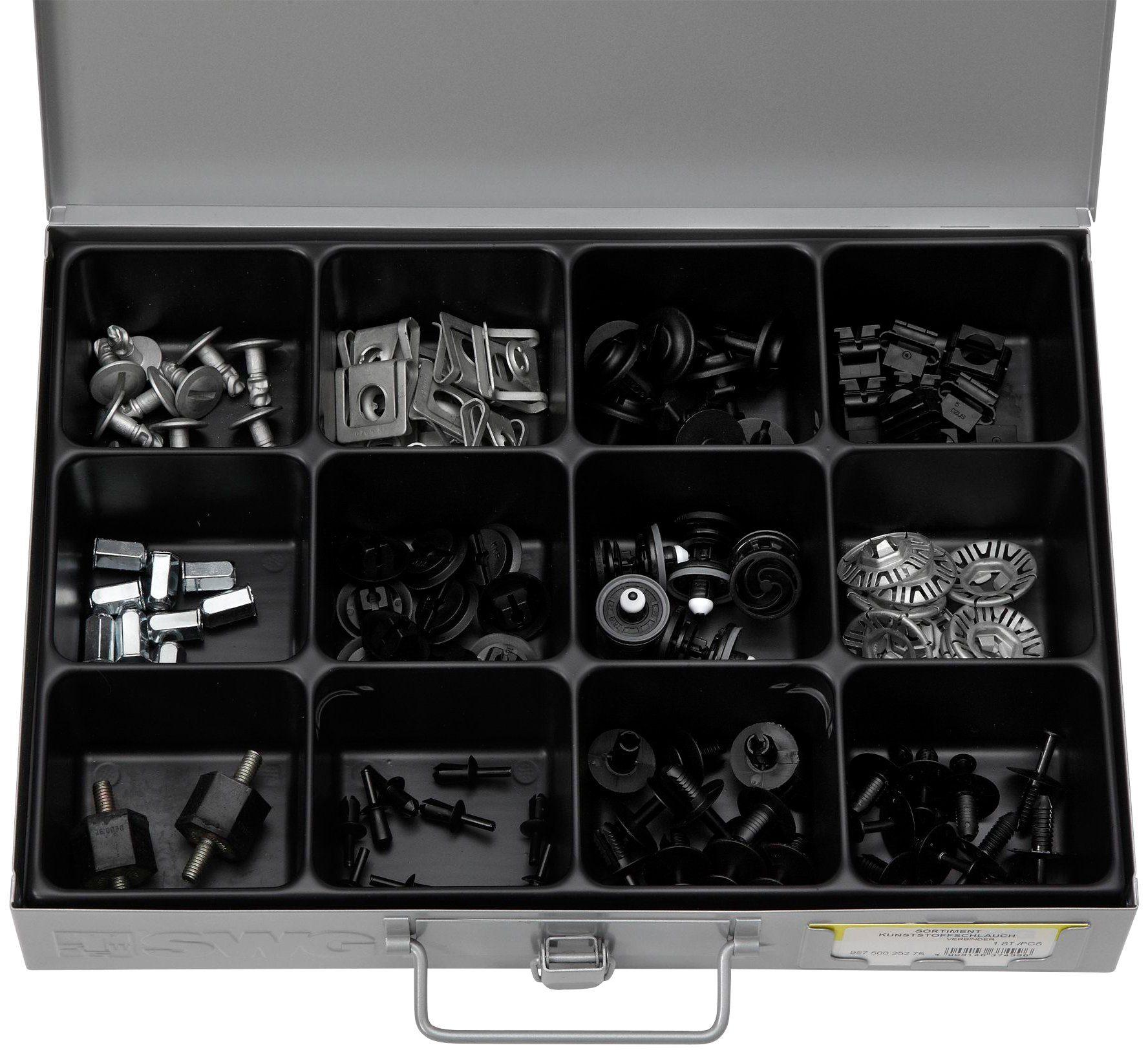 RAMSES Sortimentskasten , mit Clips Ford/Opel/VW, 107 Teile