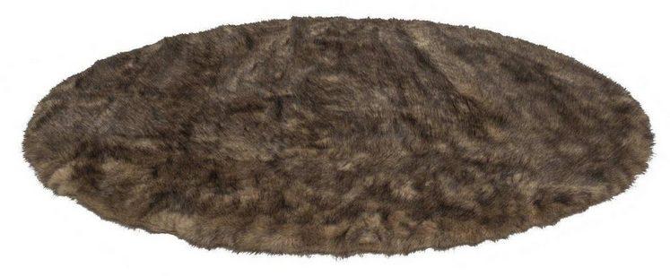 Fellteppich »Crown 110«, Kayoom, rund, Höhe 55 mm, Besonders weich durch Microfaser