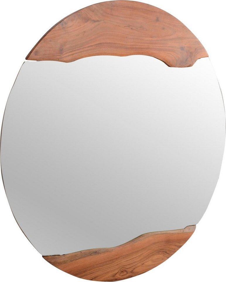 The Wood Times Spiegel rund Jamgal mit natürlicher Baumkante  | 04260531090826