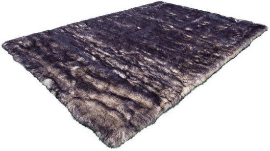 Fellteppich »Crown 110«, Kayoom, rechteckig, Höhe 55 mm, besonders weich durch Microfaser, Kunstfell, Wohnzimmer