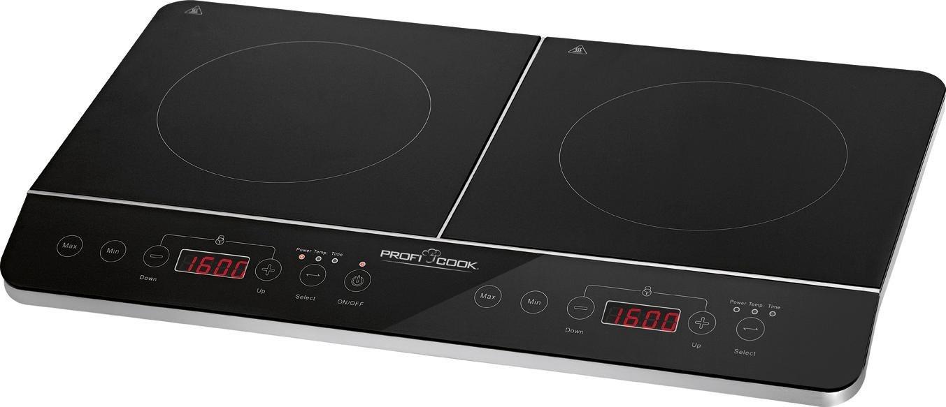 ProfiCook Doppel-Induktionskochplatte PC-DKI 1067, energiesparend - ProfiCook