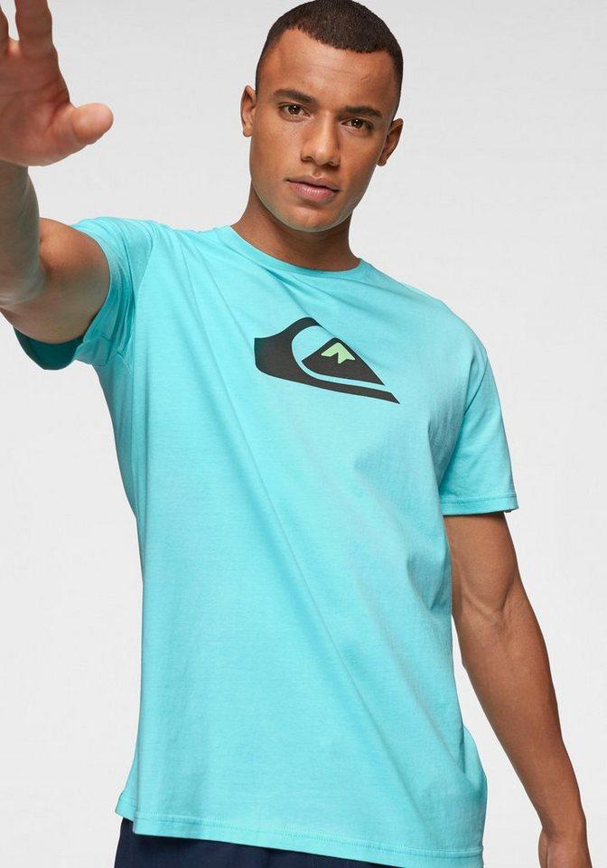 Herren Quiksilver T-Shirt M AND W SS TEE grün | 03613374286191