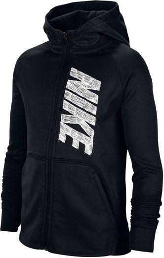 Nike Trainingsjacke »BOYS NIKE THERMA FULLZIP HOODIE«