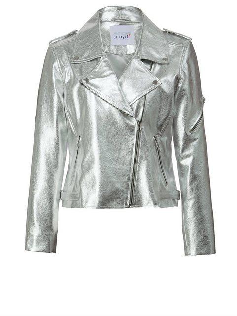 angel of style by happy size -  Lederimitat-Jacke