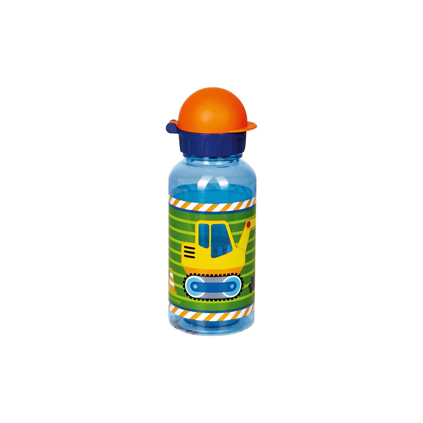 Spiegelburg Kleine Freunde: Trinkflasche Bagger (0,4l)