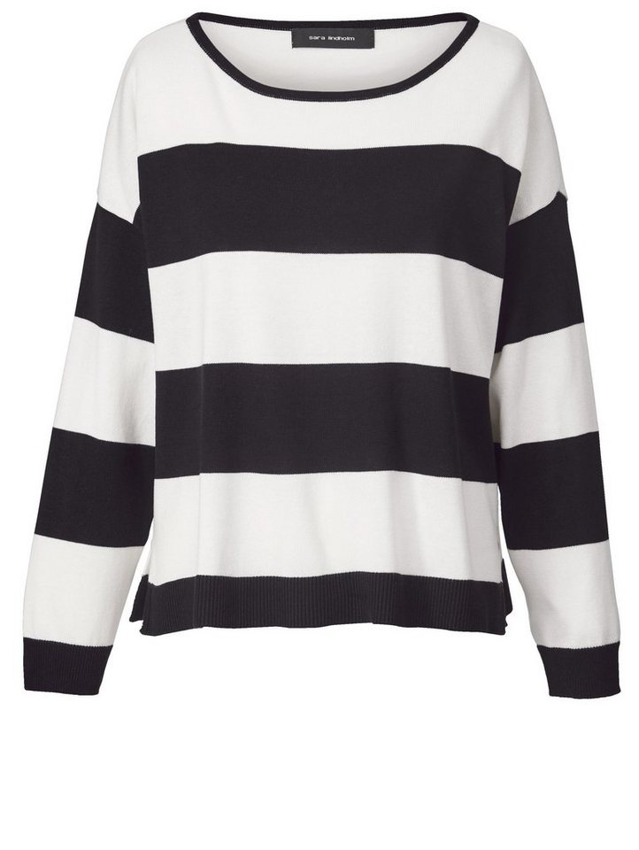 online retailer bfe6f 1e084 Sara Lindholm by Happy Size Pullover gestreift in Oversize-Form online  kaufen | OTTO