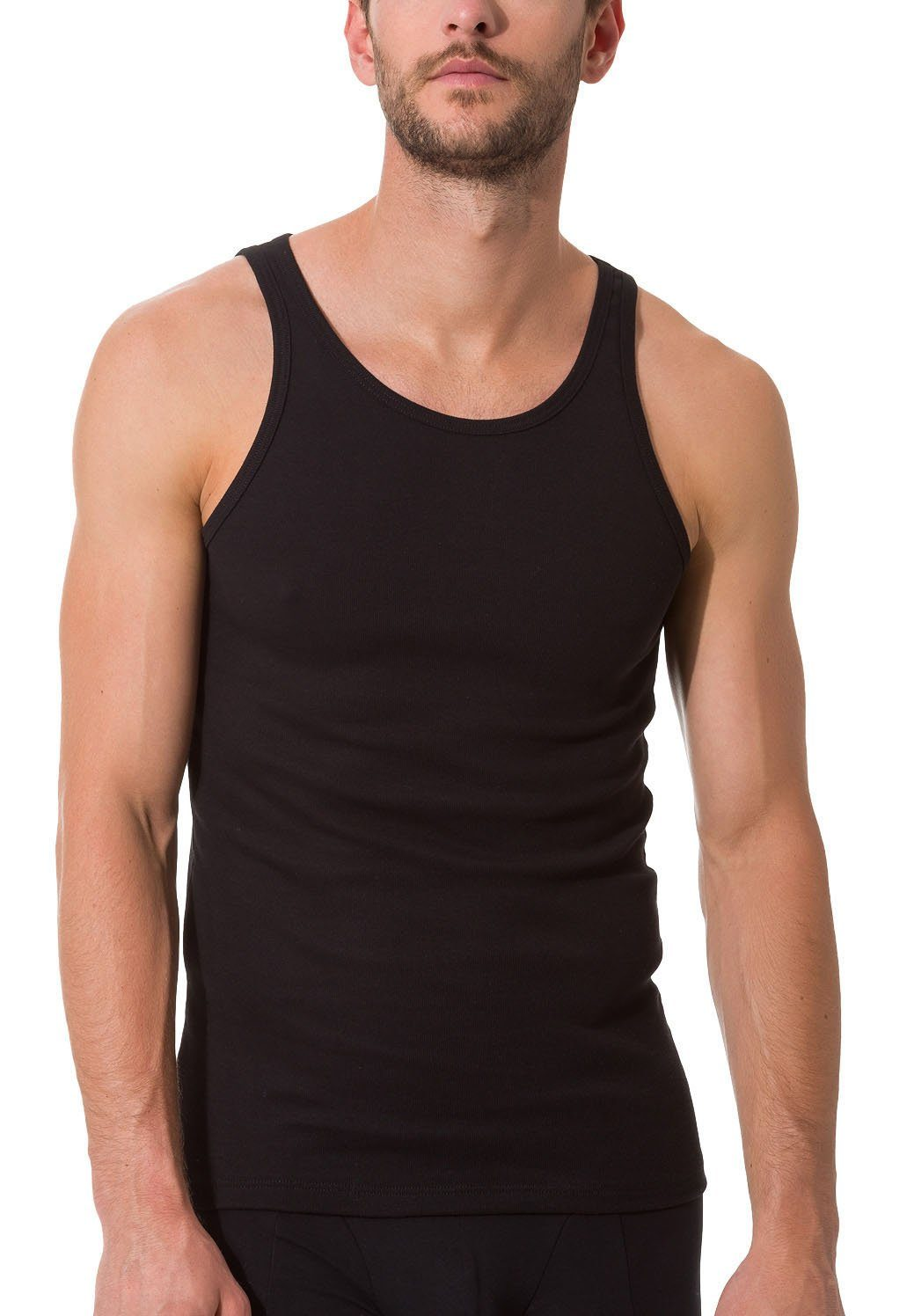 Calvin Klein Herren Unterhemd LIQUID COTTON SS CROSSOVER V NECK