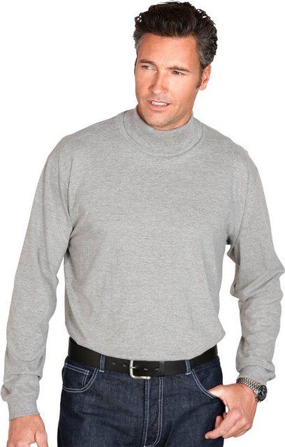 classic -  Rollkragen-Shirt aus reiner Baumwolle