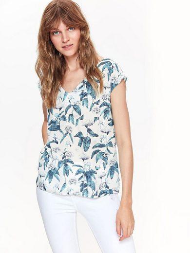 TOP SECRET Bluse mit floralem Muster