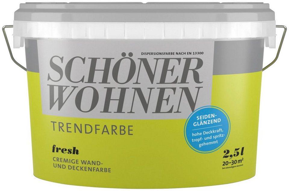 SCHÖNER WOHNEN FARBE Wand- Und Deckenfarbe »Trendfarbe
