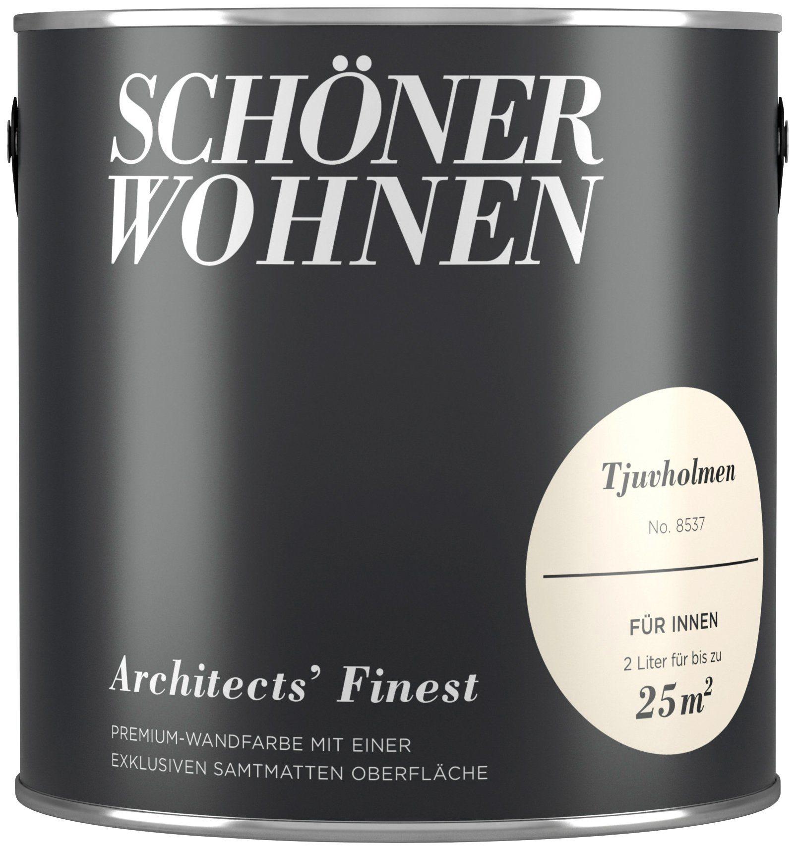 SCHÖNER WOHNEN FARBE Wand- und Deckenfarbe »Architects' Finest - Tjuvholmen«, 2 l