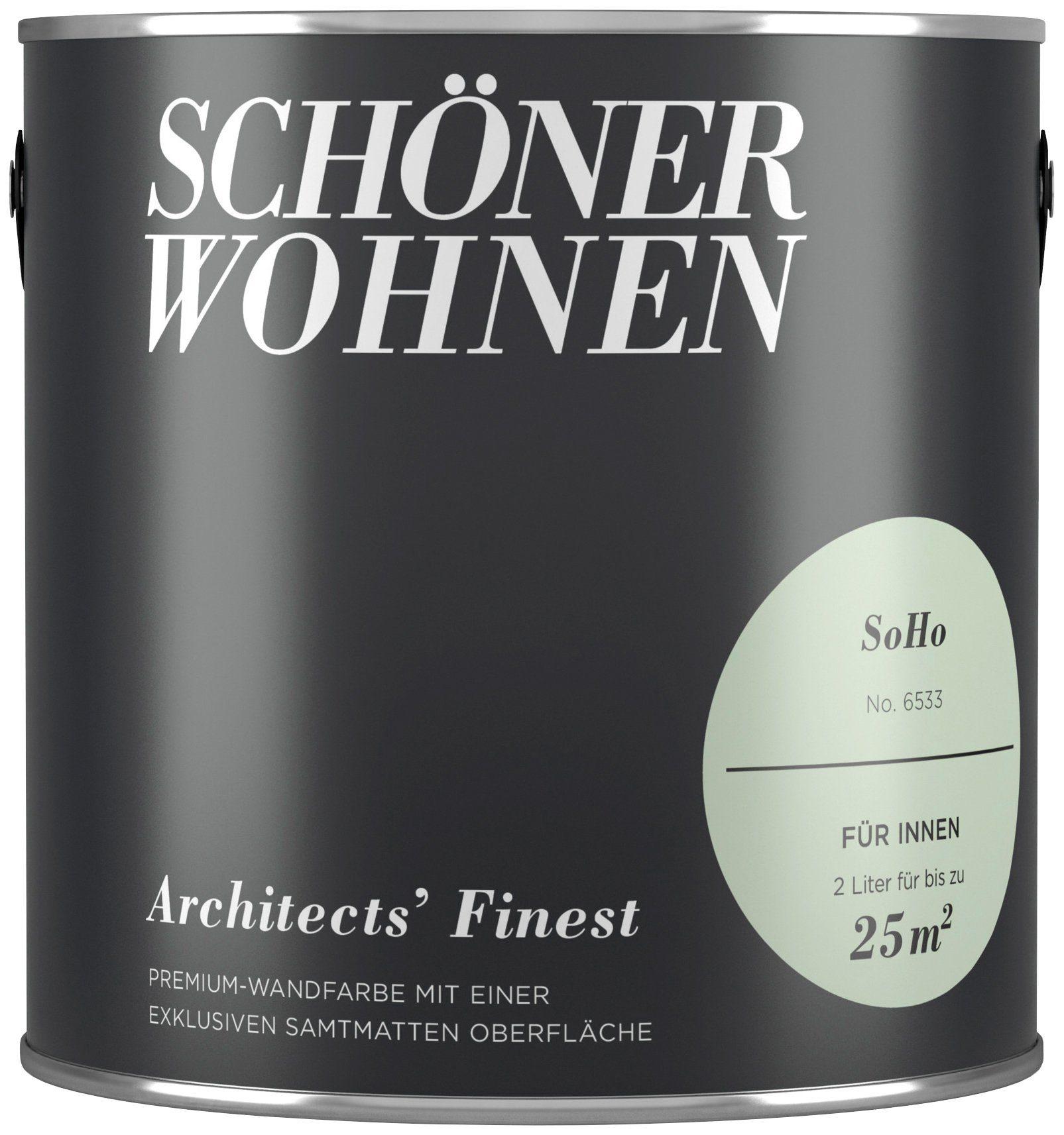 SCHÖNER WOHNEN-FARBE Wand- und Deckenfarbe »Architects' Finest«, Soho