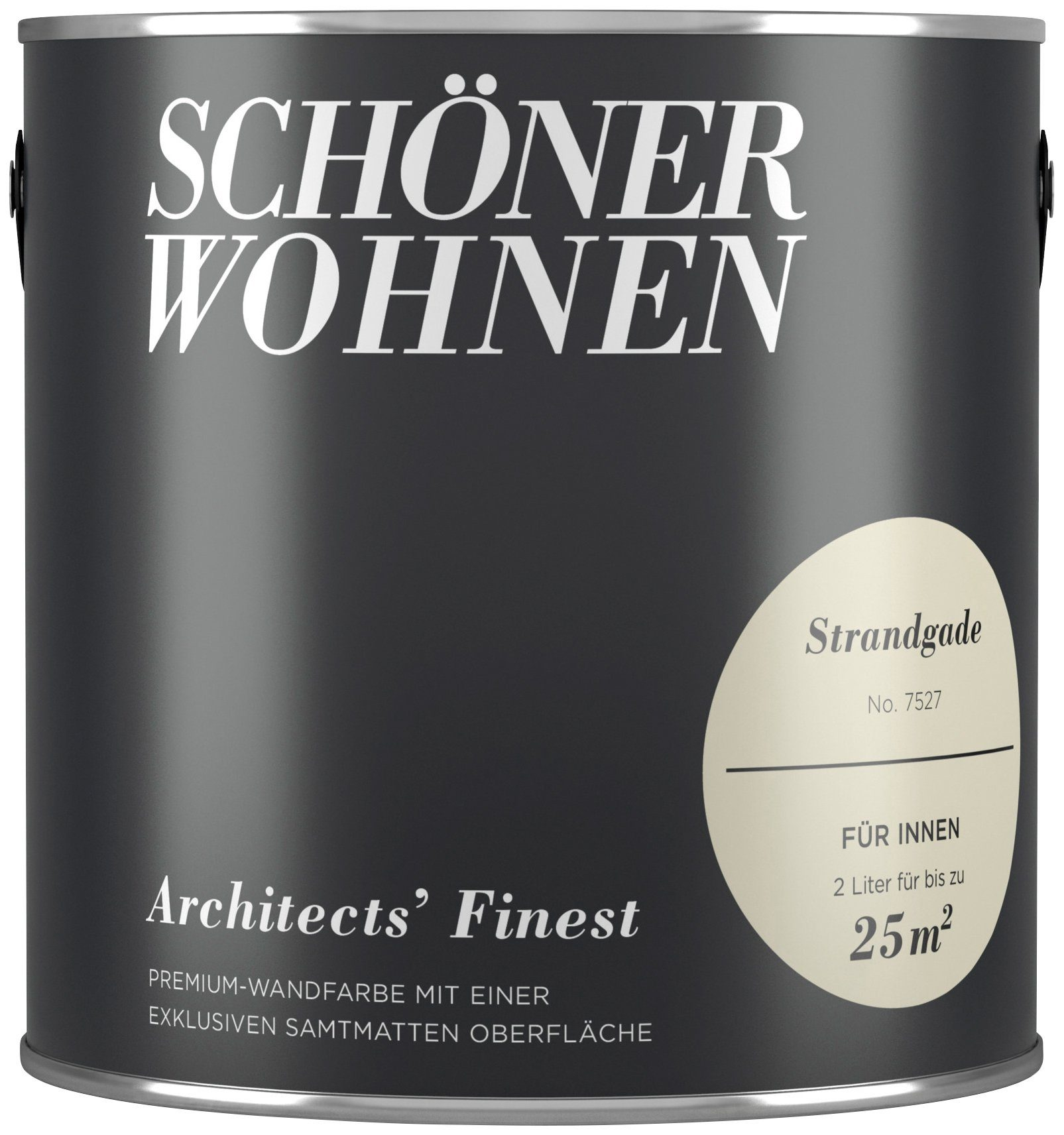 SCHÖNER WOHNEN FARBE Wand- und Deckenfarbe »Architects` Finest«, Strandgade, 2 l