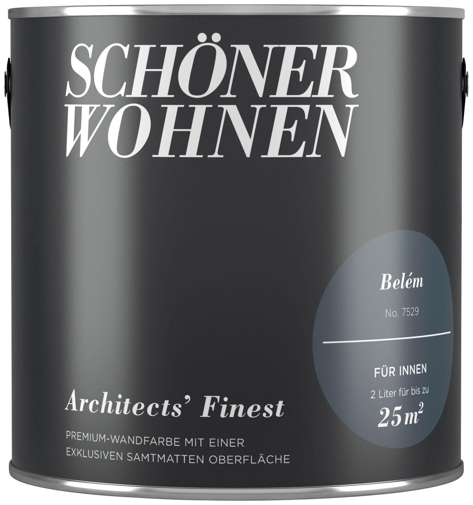 SCHÖNER WOHNEN FARBE Wand- und Deckenfarbe »Architects' Finest - Belém«, 2 l