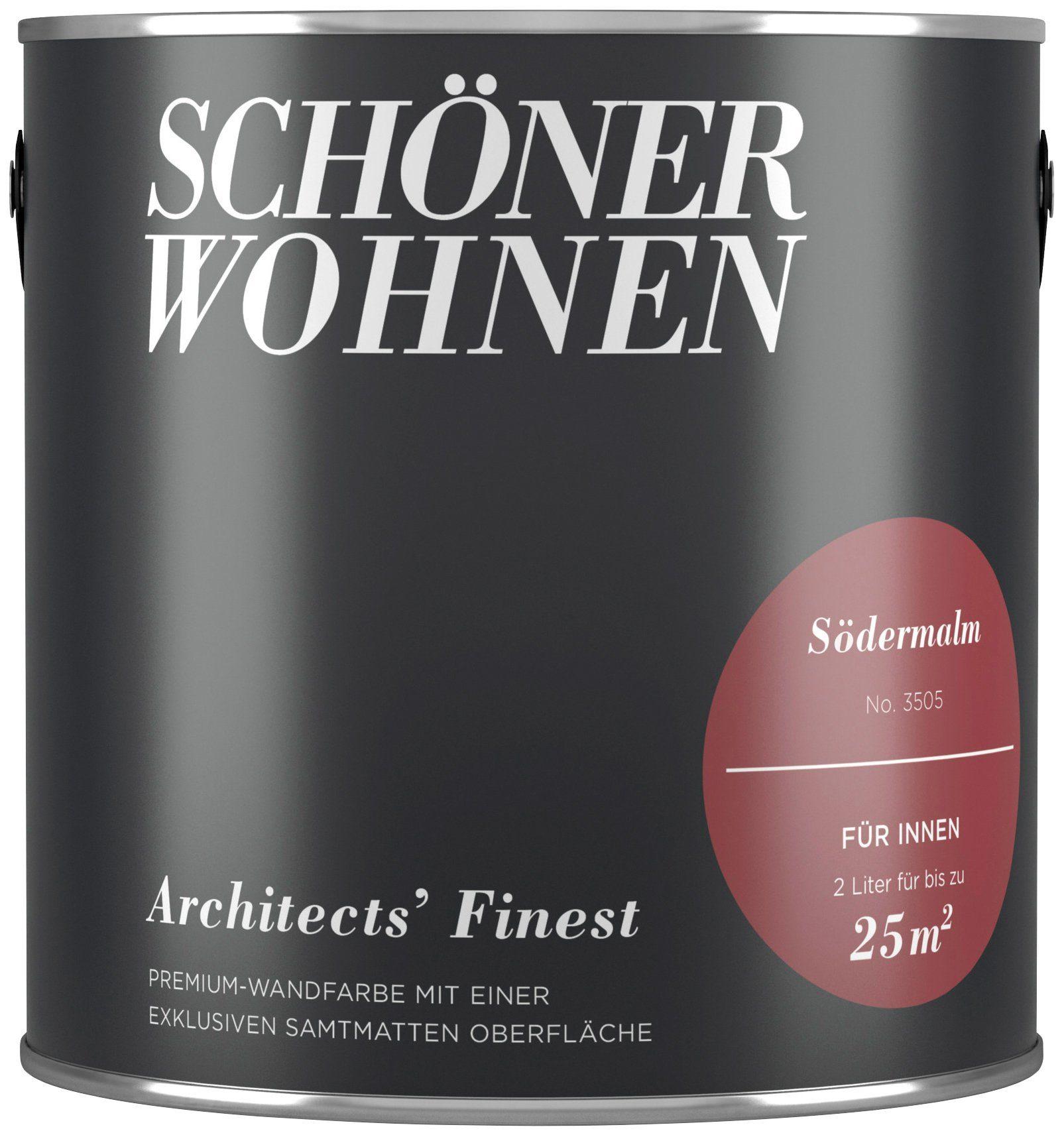 SCHÖNER WOHNEN FARBE Wand- und Deckenfarbe »Architects' Finest - Sødermalm«, 2 l