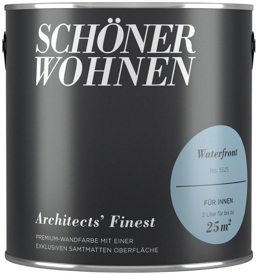 Perfekt SCHÖNER WOHNEN FARBE Wand  Und Deckenfarbe »Architectsu0027 Finest    Waterfront«, ...