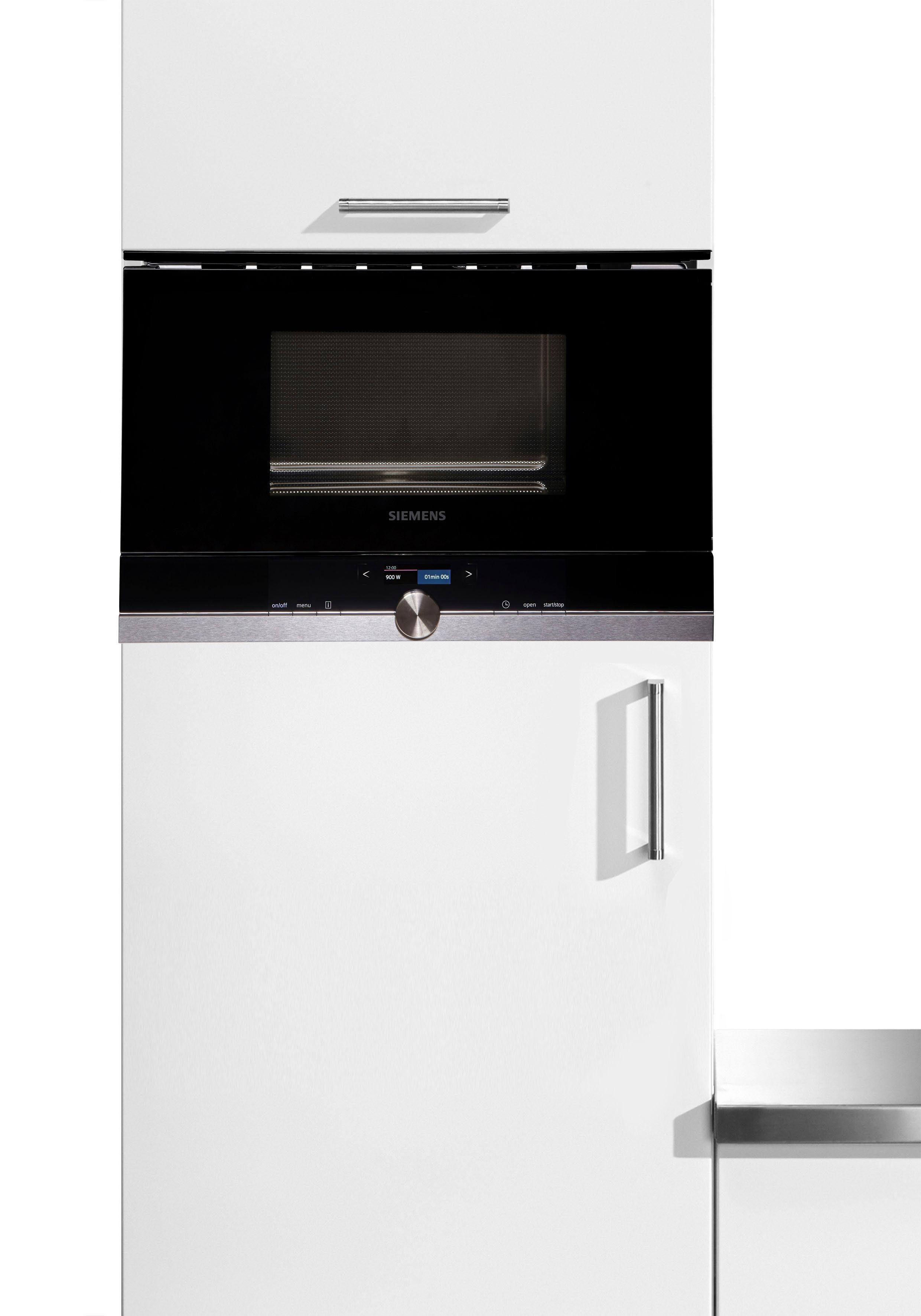 SIEMENS Einbau-Mikrowelle BF634RGW1, 900 W